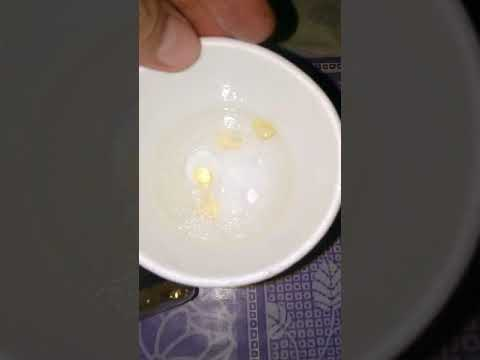 Styrofoam test Alaska fish oil😢
