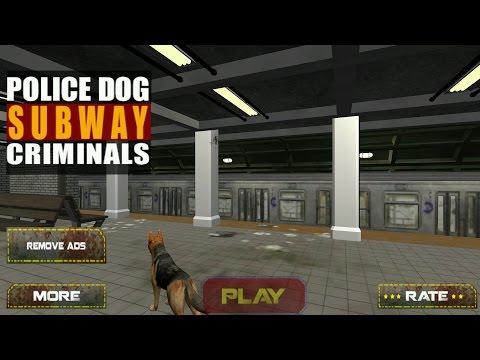 Police Dog Subway Criminals Android Gameplay