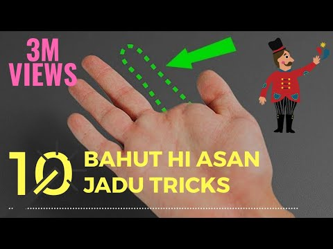 10 EASY MAGIC TRICKS ANYONE CAN DO HINDI/URDU