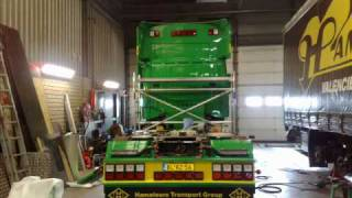 Scania 164 v8 580 opbouw