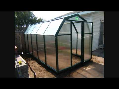 How to build 12' Rion EcoGrow Greenhouse Kit