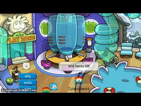 Club Penguin:Getting Rainbow Puffle!