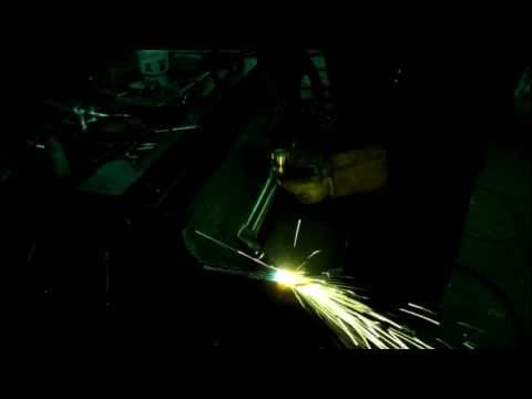 Cutting thin metal with a torch