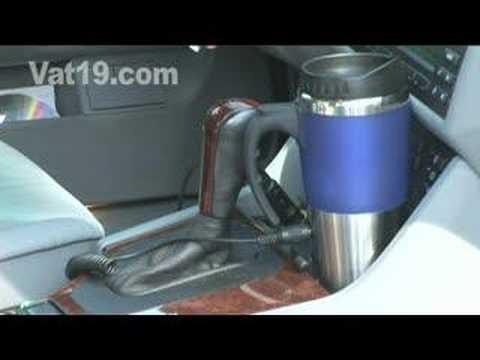 Cold Coffee Is Gross - Keep It Warm with a Heated Mug