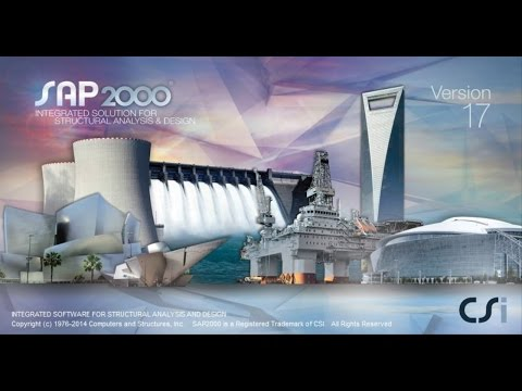 SAP2000-Modeling of Stair and Ramp
