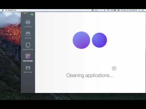 Dr. Cleaner Pro: How to Uninstall Apps on the Mac