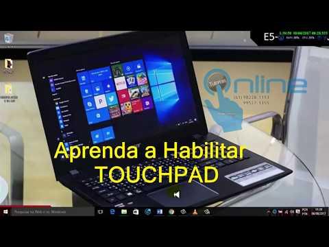 Aprenda a habilitar TOUCHPAD do Acer E-15 512  (TUTORIAL COMPLETO)#