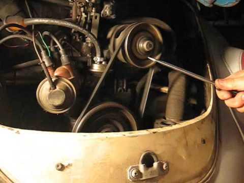 The Original Fast Volkswagen Belt  Change.