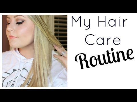 My Hair Care Routine For Healthy Long Hair (Best Products For Blonde Hair)