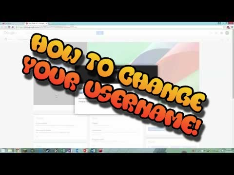How to change your YouTube username into one word as of November, 2015