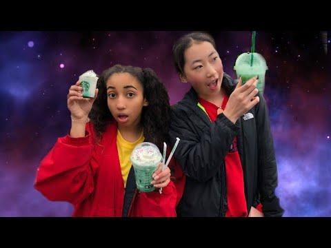 Starbucks Crystal Ball Frappe Taste Test