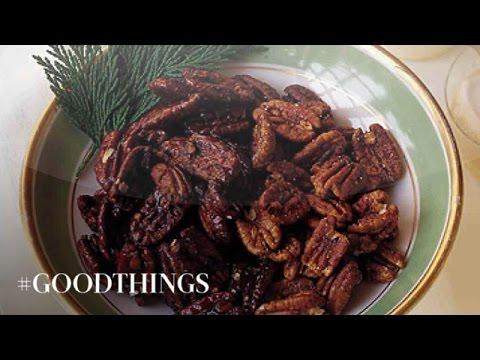Good Things: Spiced Maple Sweet Pecans - Martha Stewart
