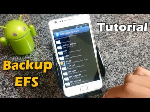 [Tutorial] Backup y Restauración Carpeta EFS Android