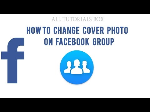 How To Change Cover Photo On Facebook Group In Urdu/Hindi Tutorial 2017