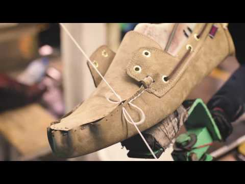 Sebago Series, How It's Made: Docksides