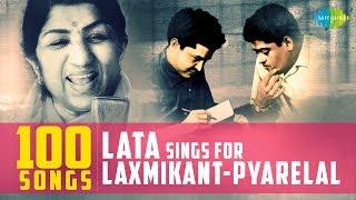 Top 100 songs of Lata & Laxmikant-Pyarelal|लता & लक्समिकान्त-प्यारेलाल के 100 गाने|One Stop Jukebox
