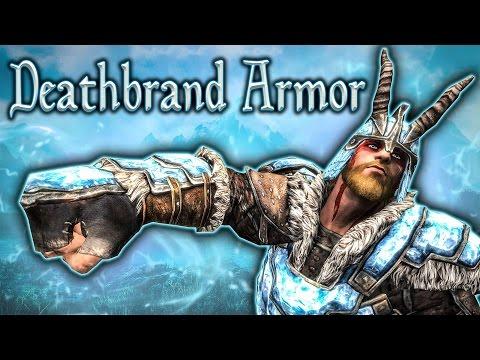Skyrim SE - Deathbrand Set - Unique Armor Guide