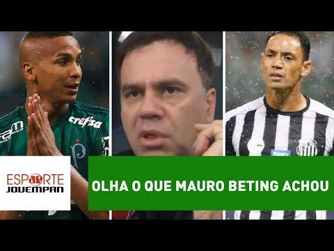 OLHA o que Mauro Beting achou de Palmeiras 0 x 1 Santos!