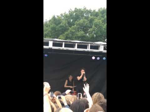 The Vamps @ Drayton Manor 5th July 2014