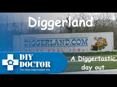 DIY Doctor goes to Diggerland - A fantastic day out
