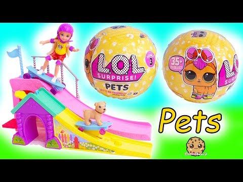 LOL Surprise Pets + Barbie Kid -  Blind Bag Pet -  Litter Box Sand , Cry , Color Change ?