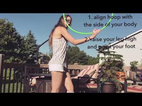 Hook wedgie hula hoop tutorial