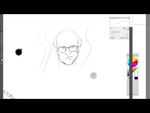 Wacom and PhotoShop wavy line problem?