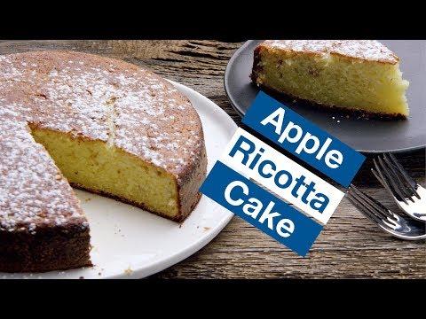 Moist Rich Decadent Apple Ricotta Cake || Le Gourmet TV Recipes