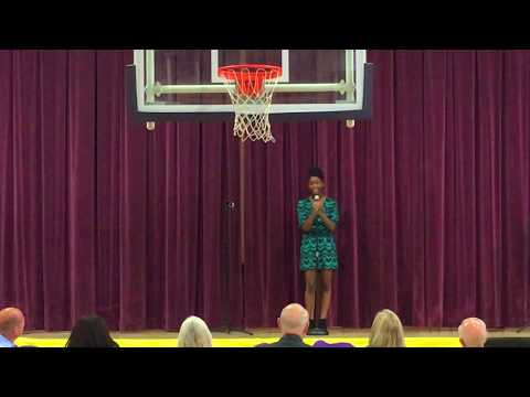 Donelson Middle School Talent Show Naveah Ogletree
