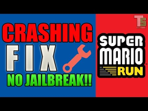 How To FIX Super Mario Run Crash | NO JAILBREAK  | iOS 9  - iOS 10.2 (iPhone, iPad & iPod)