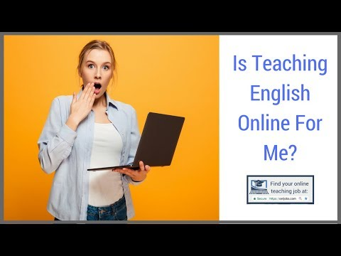 📣 Is Teaching English Online For Me? 📣