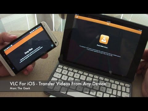 VLC for iOS - Transfer Videos From Any Device