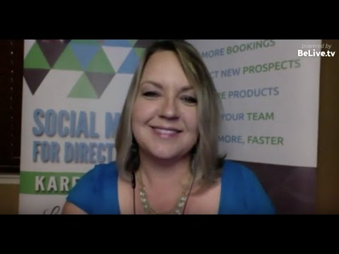 Social Media for Direct Selling Leaders: Lunch & Learn with Karen Clark (2017)