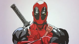 How To Draw Deadpool Step By Step Marvel