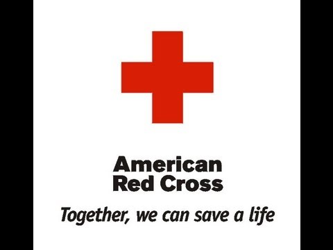 American Red Cross Blood Donation.
