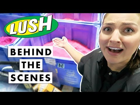 LUSH Factory: What You Didn't See... | JacIRL #9