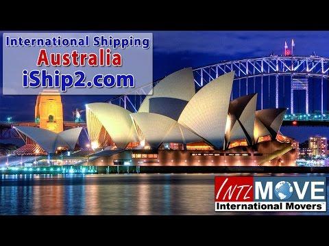 international shipping Australia shipping company USA to Australia international shipping