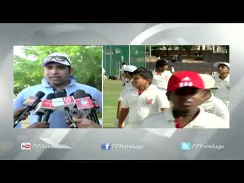 Summer Camp || Welcome to VVS Laxman Cricket Academy || Hyderabad | 99tv