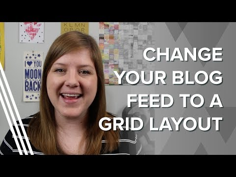How to Display Your Blog Posts in a Grid Layout (in Squarespace AND Wordpress)