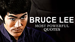 THE Greatest Bruce Lee Quotes [POWERFUL]