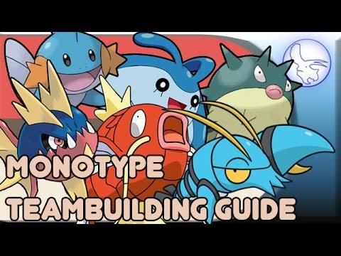 Pokemon Monotype Team Building Guide