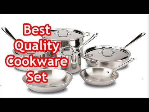 Best Quality Cookware Set : All-Clad Tri-Ply Stainless Steel Cookware Set