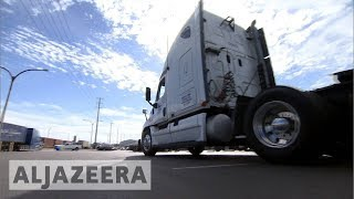 US truckers complain of lost wages on Black Friday