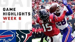 Bills vs. Texans Week 6 Highlights   NFL 2018