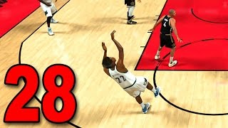 NBA 2K17 My Player Career - Part 28 - WIGGINS AT THE BUZZER?!