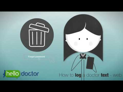 Hello Doctor - How to text a doctor via the Web