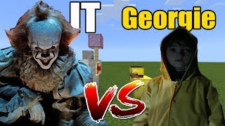 IT vs Georgie | Minecraft PE