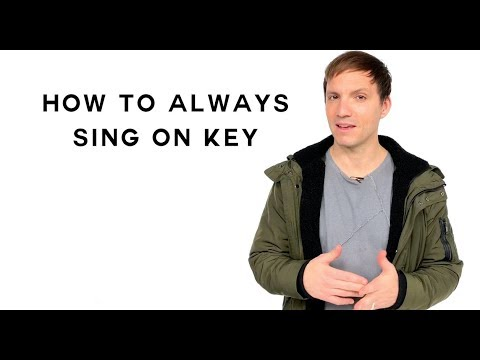 How To Sing - How To Always Sing On Key