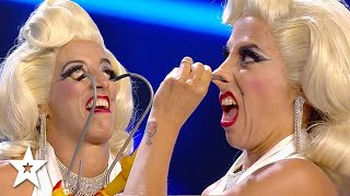 Didn't SEE That Coming! Judges Can't Watch CRINGY Audition! | Got Talent Global