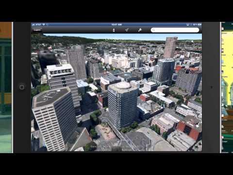 Google Earth 3D Demo On The New iPad